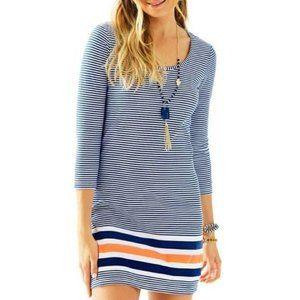 Lilly Pulitzer   Beacon Striped T-Shirt Dress XXS